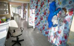 Sale porodowe z korytarzem