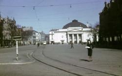 Gdańsk w 1943 roku, Targ Węglowy. Jedno ze zdjęć przekazanych przez norweską rodzinę.