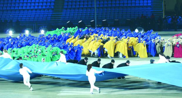 Przedmeczowa ceremonia z udziałem artystów-wolontariuszy to stały punkt każdego ze spotkań piłkarskich mistrzostw Europy.