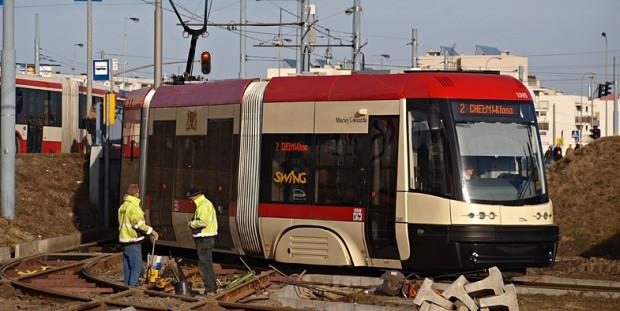 Po uruchomieniu nowej trasy tramwajowej, na pętli Chełm Witosa będą zawracać wyłącznie tramwaje linii 11.