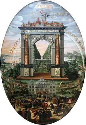W latach 1606-1608 Izaak van den Blocke tworzył dzieło swojego życia - dwadzieścia pięć obrazów do stropu Wielkiej Sali Rady (Sali Czerwonej) Ratusza Głównego Miasta.