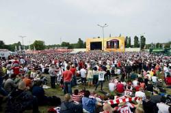 Ponad 20 tys. osób bawiło się w strefie kibica w Gdańsku.