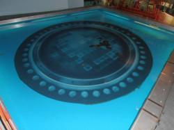 Rdzeń reaktora z zestawem kaset uranowych składających się z setek szczelnie zamkniętych rurek, w których znajdują się pastylki - tlenku uranu. Taki widok w formie makiety był dostępny w centrum informacji przy elektrowni w Belgii.