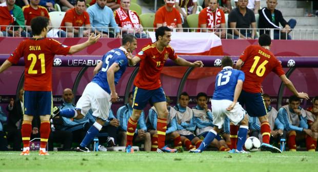 Mecz Hiszpania - Włochy otworzył Euro 2012 na Arena Gdańsk. Czy taki też będzie skład uczestników finału, 1 lipca w Kijowie?
