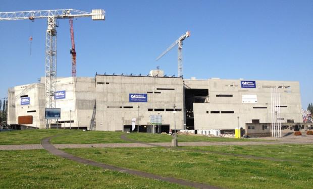 Budowa Europejskiego Centrum Solidarności w Gdańsku.