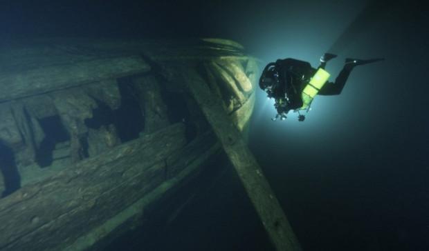 Doświadczony nurek i fotograf podwodny z Gdyni - Tomasz Stachura - bierze udział w międzynarodowym projekcie inwentaryzacji wraku XVI-wiecznego galeonu.
