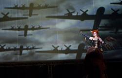 Wagnerowska walkiria powitała widzów w nowej Operze Leśnej.