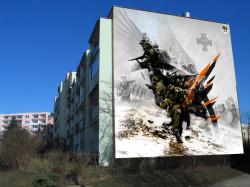 Tak wyglądać będzie kolejna praca, który zasili kolekcję malarstwa monumentalnego na Zaspie. Praca powstanie przy ul. Nagórskiego 11C i będzie 40. muralem na Zaspie.