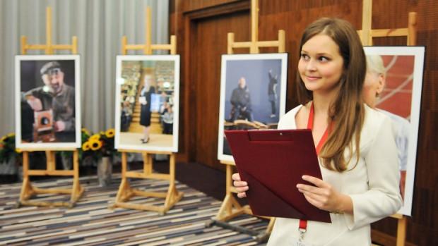 Zdjęcia Mistrzów zaprezentowano podczas gali rozpoczynającej sprzedaż kalendarza.