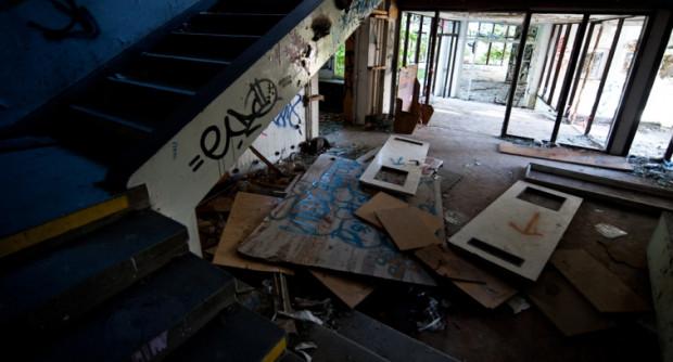 Nie zanosi się na to, by budynek dawnego sanatorium w Orłowie został w najbliższym czasie zabezpieczony.