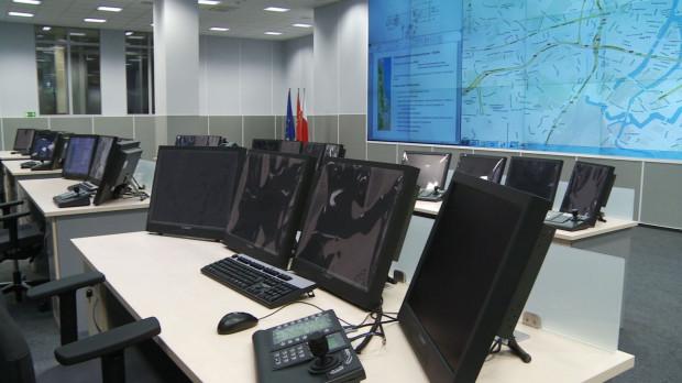 Gdańskie stanowisko dowodzenia systemem Tristar.