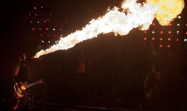 Zainteresowanie koncertem było tak duże, że Rammstein dał w Ergo Arenie dwa występy dzień po dniu.
