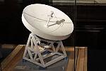 Makieta radioteleskopu wykonana przez Lecha Zuzańskiego.