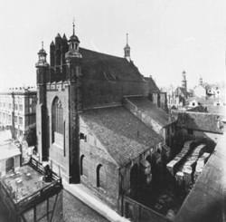 Tak niegdyś wyglądał kościół św. Józefa.