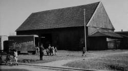 Zdemontowane wyposażenie kościoła Św. Trójcy wywożono w 1944 r. na Żuławy.