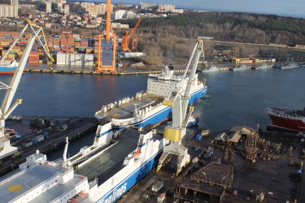 Jednostki armatora Finnlines należącego do Grimaldi Group, jednego z największych tego typu operatorów na świecie, zostały wprowadzone w suchy dok SDII.